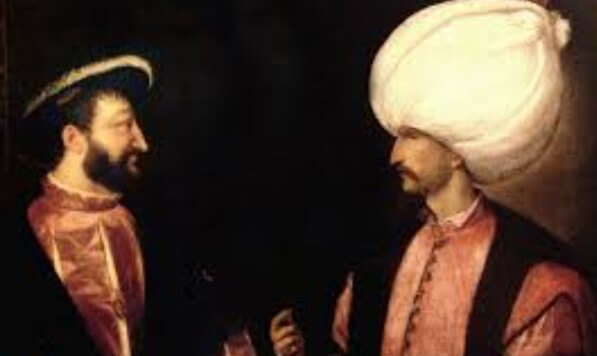 Kanuni ve fransa kralı