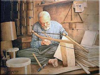 Yaşlı marangoz