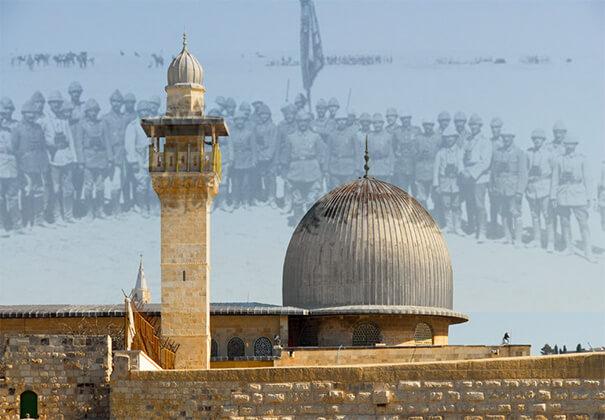 Kudüste bir osmanlı onbaşı