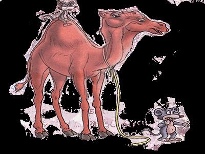 mesneviden hikayeler - deve ile fare