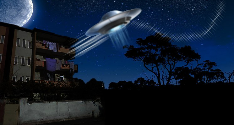 Ankarada ufo