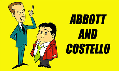 Ebıt ve Kastello - Abbott and Costello