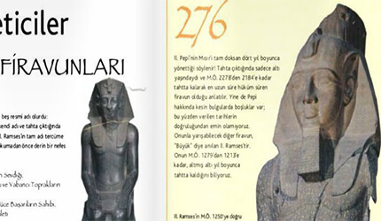 tarih firavunlar