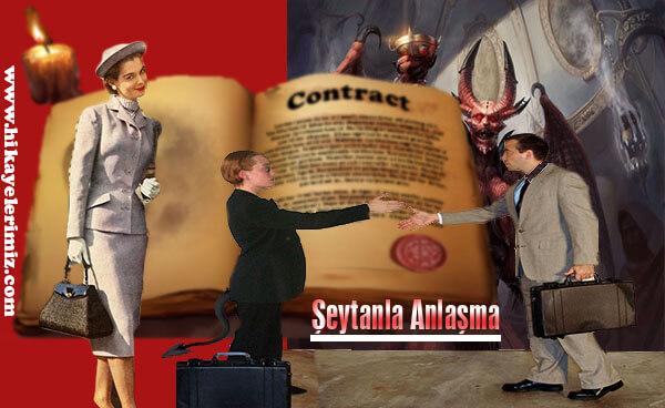 Şeytanla anlaşma fantastik hikayeler