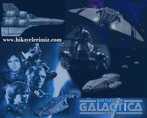 retro dizi - battle star galactica
